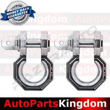 "1 Pair 3/4"" Silver 3.0 Ton Aluminum D-Ring Bow Shackle Heavy Duty Offroad Atv Rv"