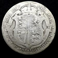 1916 George V Silver Half-Crown Coin - Great Britain..