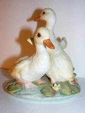 Vintage Homeco Masterpiece Porcelain Yellow Duck Duckling Figurine 1982 T2C10