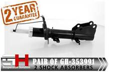 2 NEW FRONT SHOCK ABSORBERS FOR RENAULT KANGOO II 2008/GH-353991K