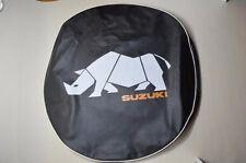 JDM OEM SUZUKI JIMNY SAMURAI Spare Tire Cover Soft BLACK TURBO Rhino NEW JAPAN