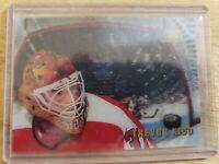 1996-97 Pinnacle McD's EXCLUSIVE CAGED ICE BREAKERS 3D Trevor Kidd Flames #McD34