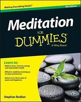 Meditation For Dummies: By Bodian, Stephan