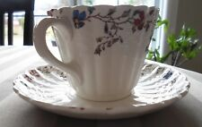 "Copeland Spode ""Wicker Dale"" Cup and Saucer Set  made in England"