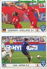 56-57 3RD PLACE GERMANY-ENGLAND FINAL USA-JAPAN  FIFA WOMEN'S WORLD CUP FIFA 365