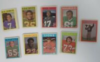 1972 O-Pee-Chee OPC Canadian Football Card Set Minus 6 Cards 126/132 012419DBT3