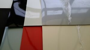 VARIOUS GLOSS FORMICA SHEETS 1200 X 500 X 0.8 MM