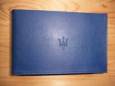 MASERATI  Bordmappe Dokumentenmappe  NEU Original für Liebhaber  - 350350