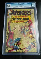 Avengers #11 CGC 9.2 Spider-Man appearance