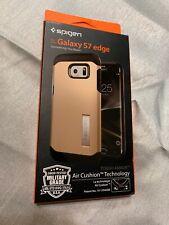 Spigen Tough Armor - Samsung Galaxy S7 edge -champagne gold