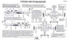 Berna Decals 1/48 FOUGA CM 170 MAGISTER ECOLE DE L'AIR