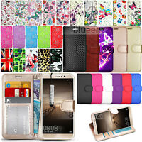 For Huawei Mate 9 MHA-L09 Wallet Leather Case Flip Cover + Screen Protector