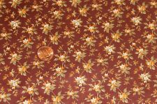 """""""FAIRFIELD"""" FLORAL 100% COTTON QUILT FABRIC BTY BY QUILTING TREASURES 2461-M"""