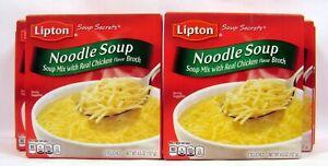 Lipton Chicken Noodle Soup Mix Recipe Secrets 8 Boxes About 64 Servings 7/2021