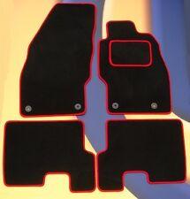 VAUXHALL CORSA 2001 - 2007 BLACK CAR MATS / RED EDGE B