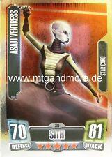 Asajj Ventress #209 STAR-Force Attax Serie 2