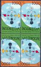 2001 Dialogue among civilizations - Indonesia - block of four t-b