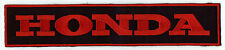 """HONDA - Large Embroidered Patch - 9.5"""""""