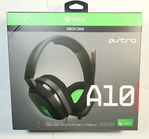 ASTRO GAMING A10 gaming headset. Factory sealed. XBOX ONE, PLAYSTATION 4, MOBILE