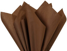 960 Chocolate Brown Tissue Paper 15x20 Holiday Weddings Crafts Decor Poms