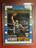 2018-19 NBA 🏀 Hoops Road To The Finals 54  Kevin Durant 637/999 Serial Numbered