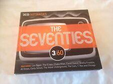 Various Artists - 3/60 (The Seventies, 2011) CD X 3  (Pop)