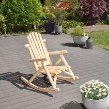 GreenSpirit Schaukel Stuhl Timber - Holz Garten Sessel Möbel Outdoor Terrassen