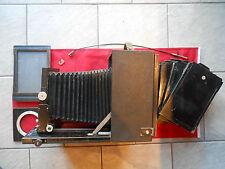 Mentor Studio 13x18 plaques Caméra Télé Grand Caméra holzkamera avec 5 plaques