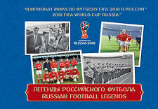 Booklet.Russian Football Legends.The 2018 FIFA World Cup Russia™