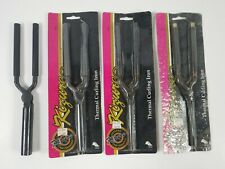 Kizure Thermal Curling Irons In Package Lot of 3 J D #5 Plus One Loose Iron