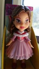 Disney Mini Toddler Posable Doll Toy The New Belle In Pink & Red Dress HTF