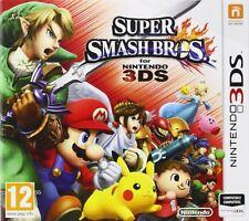 SUPER SMASH BROS TEXTOS EN CASTELLANO NUEVO PRECINTADO 3DS N3DS