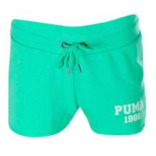 Puma Style Athletic Womens Mint Leaf Cotton Sport Short Shorts 836403 32 DD46