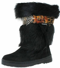 Flat (0 to 1/2 in.) Suede BEARPAW Boots for Women