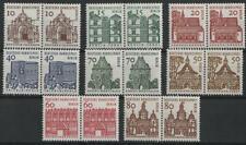 Berlin aus 1964 ** postfrisch MiNr. 242-249 Bauwerke waagerechte Paare