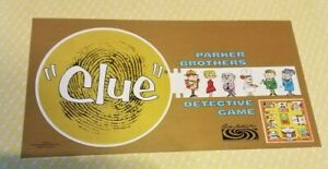Clue Board Game Board, Replacement Board Only, Original Vintage 1963 , Crafts