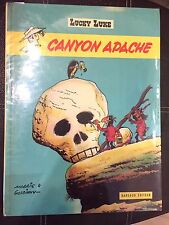 LUCKY LUKE MORRIS CANYON APACHE EO 1971 DARGAUD CARTONNE BE+