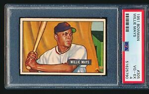 1951 Bowman WILLIE MAYS RC #305 PSA 4 - Well Centered