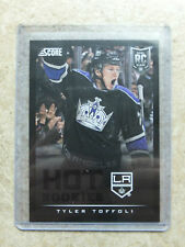 13-14 Panini Score Hot Rookies RC #598 Black Ice Border SSP TYLER TOFFOLI