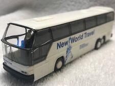 Vintage 🚎Rietze Neoplan Cityliner Coach Bus Shortway HO Scale Train Charter Red