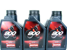 1 Litre 1l MOTUL Engine Oil 2t Motorcycle 800 Factory Line off Road Synthetic