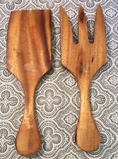 "Pacific Merchants Acaciaware Wood Salad & Pasta Serving Set Utensils 10"" # 28"