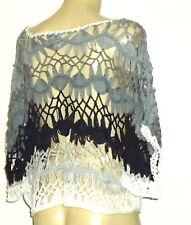 AVOCADO GreyTonalOpenCrochet100%Acrylic Size12