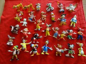30 Disney Figuren Konvolut Micky Maus, Donald Duck, Fix und Foxi, Lupo Heimo
