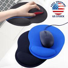 Mouse Pad Wrist Rest Support Ergonomic Comfort Mat Non Slip PC Laptop Computer ^