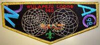OA WULAPEJU LODGE 140 BLACKHAWK AREA COUNCIL PATCH GMY NOAC 1998 DELEGATE FLAP