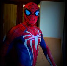 PS4 insomne Traje de Disfraz de Hombre Araña – Edición especial