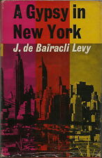 A GYPSY IN NEW YORK BOOK BY DE BAIRACLI LEVY 1962 1ST EDITION GIPSY