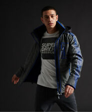 Superdry Mens Limited Edition Hybrid Borg Sd-Windcheater Jacket