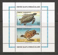 Turkey Sc # 2457a Sea Turtles . Mnh